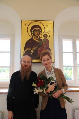 31 декабря. Наш храм посетила чудотворная икона Божией Матери «Умиление»